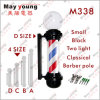 Best Price Chromed Plated with Round Cap Barber Pole