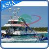 Long Yacht Inflatable Water Slide, Ocean Inflatable Water Slide for Yacht