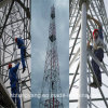 Hot DIP Galvanized 4legs Angle Steel Telecommunication Tower