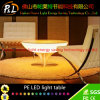 PE Rechargeable LED Light Short Table