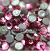 Fashion Garment Accessories Factory China Hot Fix Rhinestone Strass (HF-ss16 rose/4A grade)