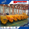 50 Cbm/Hr Concrete Pumping Machine with 100m Distribution Steel Pipeline on Sale