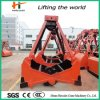 High Productivity Four Cable Clamshell Grab for Crane