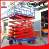 Mobile Scissor Lift Platform Mechanism