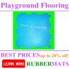 Non Toxic Outdoor Garden Rubber Mat, Outdoor Playground Rubber Mats