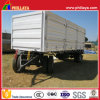4 Wheels Side Wall Full Cargo Box Trailer