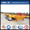 48FT 3axle Gooseneck High Tensile Steel Skeleton Semi Trailer