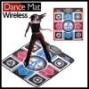 Wireless 32 Bit HD TV Single Dance Pad with 2 Gamepads