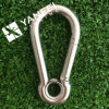 Stainless Steel Snap Hook with Eyelet for Chain