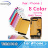 Mobile Phone Back Cover for iPhone 5s Back Cover Assembly