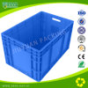 Plastic Logistic Container with Hinged Lid