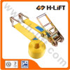 75mm / Mbs 10t Ratchet Tie Down / Cargo Lashing Strap