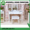 MDF Vanity Dressing Table with Stool and Jewelry Storage (W-HY-012)