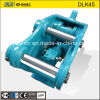 Jisan Brand Dlk45 Model Excavator Hydraulic Quick Hitch Coupler for Excavator 1.5-4 Tons