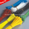 China Various Colors Self-Locking Nylon 43/4 Inch Cable Ties