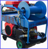 24HP High Pressure Sewer Pipe Cleaning Machine Gasoline Drive