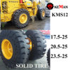 Km12 Press on Solid Tire 17.5X25 20.5X25 23.5X25 26.5X25 29.5X25