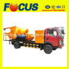 Truck Mounted Concrete Mixing Pump with Aggregate Weighting Hopper