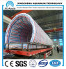 Large Clear PMMA Tunnel of Oceanarium Project