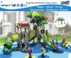 Tree Series Children Slides Playground Sets for Primary School Hf-11102