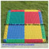 Multi-Functional Modular Suspended Plastic Interlocking Sports Flooring