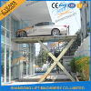 Hydraulic Underground Electric Scissor Car Lift Table with Ce