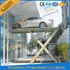 in Ground Car Parking Lift Stationary Scissor Car Lift Hydraulic Car Scissor Lift