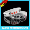 Promotion Printing Silicone Bracelet Rubber Bracelet (TH-08841)