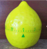Lemon Shape Mechanic Timer Plastic Material