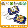 Mini Small Keychain Candy Metal Tin Box for Gifts