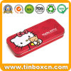 Cute Hello Kitty Pencil Case Tin Can with Teddy Bear