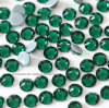 2088 Hot Fix Rhinestone Emerald Crystal Glass Beads Copy Preciosa Stone for Costume Garment (HF-Emerald /5A grade)