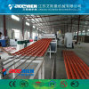 High Quality PVC Plastic Glazed Roofing Tile Extrusion Making Machine in China
