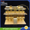 Promotion Gift 3D Metal Craft Party Product House Hang Toy