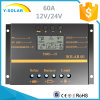 Solar Charge Controller/Regulator 60AMP 12V/24V for Solar System S60