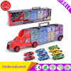 Container Truck with Many Mini Car Toy