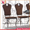Golden/Rose Stainless Steel Dining Chair for Banquet/Wedding/Restaurant/Hotel