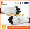 Ddsafety 2017 13 Gauge White Nylon Half Finger Work Glove