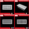 Ventilation Aluminum Supply Double Deflection Type Air Grille