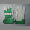 Cow Split Leather Half Lined Full Palm Working Glove-3056.03