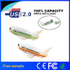 3D Custom PVC Airplane & Aircraft Shape USB Flash Drive