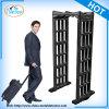 Black Shape Portable Metal Detectors Walk Through Gate