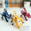 Three Color Restoring Ancient Ways Do Old Model Plane Furnishing Articles