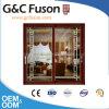 Guangdong Woodwin Hot Seller Double Tempered Glass Aluminium Sliding Door (FX-17004)