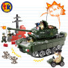 Plastic Military Tank Blocks Toy for Kids