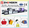 Standup Non Woven Handle Bag Making Machine Price (ZXL-E700)