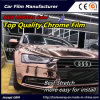 New Arrival Color, Top Quality Glossy Chrome Smart Car Vinyl Wrap Vinyl Film