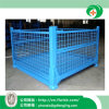 Foldable Wire Mesh Container for Transportation with Ce