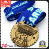 China Manufacturer Cheap Custom Zinc Alloy Enamel Marathon Running Award Metal Sport Gold Souvenir Medal No Minimum Order