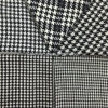 Kinds of Houndstooth Black & White Wool Fabric